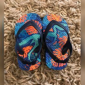 ⚠️5/$25⚠️ 5-6 Toddler Dinosaur Flip Flops